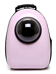 cheap -Dog Rabbits Cat Carrier Bag & Travel Backpack Waterproof Portable Mini Pet Oxford Cloth Solid Colored Classic Fashion Fuchsia Pink