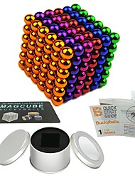 cheap -216 pcs Magnet Toy Magnetic Balls Magnet Toy Building Blocks Super Strong Rare-Earth Magnets Neodymium Magnet Puzzle Cube Magnetic Stress and Anxiety Relief Office Desk Toys Relieves ADD, ADHD