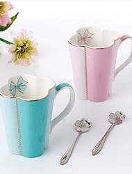 cheap -Drinkware Porcelain Mug Heat-Insulated 2pcs
