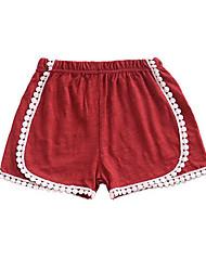 cheap -Kids Girls' Basic Daily Striped Pants Black