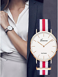 cheap -Women's Ladies Sport Watch Quartz Watches Quartz Black / Blue / Red Chronograph Casual Watch Analog Elegant Fashion - Red / Blue Navy / Red White / Blue One Year Battery Life / SSUO LR626