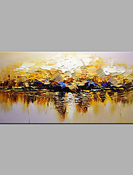 cheap -Oil Painting Hand Painted Abstract Modern Rolled Canvas Rolled Without Frame