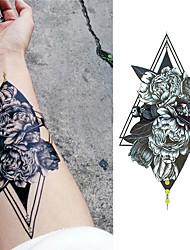 cheap -3 pcs Tattoo Stickers Temporary Tattoos Flower Series / Romantic Series Body Arts Brachium