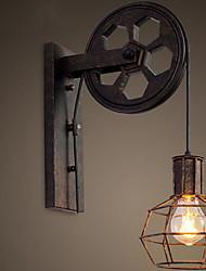 cheap -New Design Retro / Vintage Swing Arm Lights Living Room / Outdoor Metal Wall Light 110-120V / 220-240V 60 W / E26 / E27