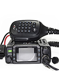 cheap -TYT TH-8600 Vehicle Mounted Dual Band 200CH 25W Walkie Talkie Two Way Mini Mobile Radio Dual Band Color LCD Display Remote Stun/Kill and Activate