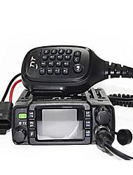 abordables -tyt th-8600 monté sur véhicule bi-bande 200ch 25w talkie-walkie radio bidirectionnelle ip67 étanche interphone uhf vhf double affichage double veille voiture radioamateur radioamateur radio mobile ave