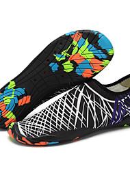 abordables -Chaussures d'Eau Cuir PVC Natation Plongée Surf Snorkeling - Antidérapant pour Adultes