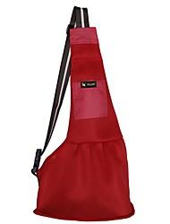 cheap -Dogs Cats Pets Shoulder Messenger Bag Pet Carrier Portable Travel Creative British Purple Red Pink
