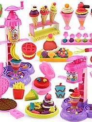 Недорогие -Игрушка кухонные наборы Ролевые игры Кухонная раковина Креатив Взаимодействие родителей и детей Пластиковый корпус Детские Игрушки Подарок 45 pcs