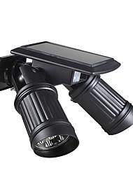 cheap -BRELONG® 1pc 1 W Wall Light Waterproof Solar Infrared Sensor Warm White White 5.5 V Outdoor Lighting Courtyard Garden 14 LED Beads