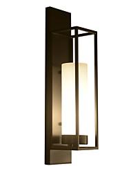 abordables -Style mini / Créatif Moderne contemporain / Rustique Appliques Bureau / Bureau de maison / Magasins / Cafés Métal Applique murale IP68 110-120V / 220-240V 60 W / E26 / E27