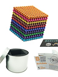 cheap -1000 pcs 5mm Magnet Toy Magnetic Balls Magnet Toy Building Blocks Super Strong Rare-Earth Magnets Neodymium Magnet Puzzle Cube Magnetic Stress and Anxiety Relief Office Desk Toys Relieves ADD, ADHD