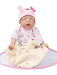 cheap -NPK DOLL Reborn Doll Newborn lifelike Cute Gift Child Safe Silica Gel Plush with Clothes and Accessories for Girls' Birthday and Festival Gifts / Kid's / Non Toxic