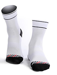 cheap -Cycling Socks Cotton Men's Solid Colored Socks Long Socks Anti-Slip Wearable Non Slip Sports & Outdoor 1 Pair