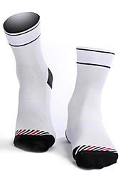 Недорогие -Хлопок Муж. Однотонный Носки Противозаносный Пригодно для носки Non Slip Для занятий спортом 1 пара
