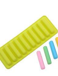 cheap -Finger Biscuit Silicone Ice Mold IFits For Water Bottle Ice Cream Marker