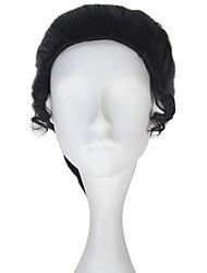 Недорогие -Косплей Косплей Косплэй парики Все 10 дюймовый Термостойкое волокно Черный Аниме