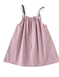 cheap -Baby Girls' Basic Solid Colored Sleeveless Dress Blushing Pink / Toddler