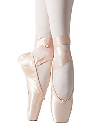 cheap -Women's Ballet Shoes Flat Ribbon Tie Flat Heel Pink