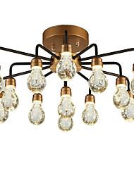 cheap -13 Bulbs QINGMING® 66 cm Mini Style Chandelier Metal Cluster Painted Finishes LED / Chic & Modern 110-120V / 220-240V / VDE