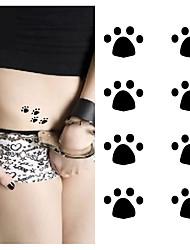 cheap -10 pcs Tattoo Stickers Temporary Tattoos Animal Series Body Arts Brachium