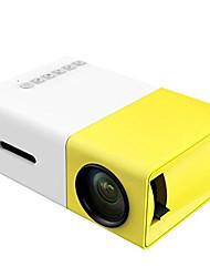 Недорогие -yg300 аккумуляторная встроенная батарея светодиодный проектор 600 люмен 3,5 мм аудио 320x240 пикселей YG-300 HDMI мини-проектор домашний медиаплеер