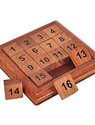 Недорогие -Деревянные пазлы Другое Фокусная игрушка Дерево / Бамбук 1pcs Детские Все Подарок