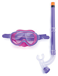 cheap -Snorkeling Set Diving Package - Diving Mask Snorkel - Dry Top Adjustable Strap Anti-fog Swimming Diving Neoprene  For  Kids