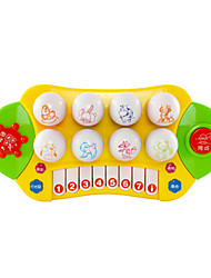 Недорогие -Intex Детские электронные пианино голос Звук Материал Универсальные Мальчики Девочки Дети 1 pcs Выпускные подарки Игрушки Подарок