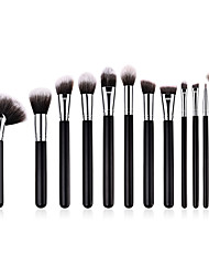 cheap -12pcs-professional-makeup-brushes-makeup-brush-set-nylon-fiber-eco-friendly-soft-wooden-bamboo