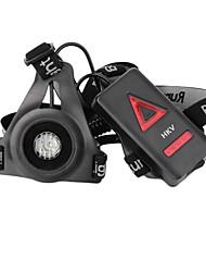 Недорогие -hkv® новейшие спортивные фонари на открытом воздухе вел свет в ночное время фонарик предупреждающие огни usb заряд грудь лампа белый факел