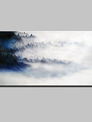 cheap -Mintura® Hand Painted Landscape Oil Painting On Canvas Wall Art Pictures For Home Decoration Ready To Hang