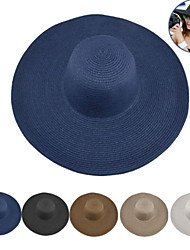 cheap -Hiking Cap Hat Wide Brim One Panel Sunscreen UV Resistant Quick Dry Breathability Straw Summer for Women's Hiking Outdoor Exercise Traveling Cream