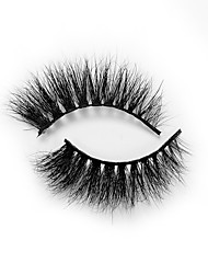 cheap -Eyelash Extensions False Eyelashes 2 pcs Professional Level Volumized Natural Curly Animal wool eyelash Daily Full Strip Lashes Thick - Makeup Daily Makeup Portable Universal Cosmetic Grooming