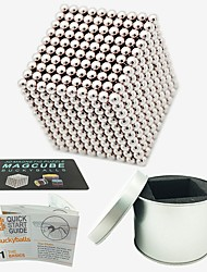 cheap -1000 pcs Magnet Toy Magnetic Balls Magnet Toy Building Blocks Super Strong Rare-Earth Magnets Neodymium Magnet Puzzle Cube Magnetic Stress and Anxiety Relief Office Desk Toys Relieves ADD, ADHD