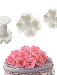 Недорогие -Повезло клеверкуки резак торт помадка плунжерная резинка паста ремесло отделочных работ