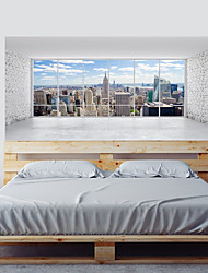 cheap -Decorative Wall Stickers - Plane Wall Stickers / 3D Wall Stickers Abstract / Landscape Living Room / Bedroom