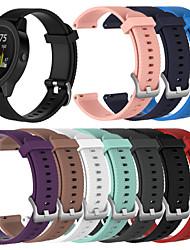 abordables -Bracelet de Montre  pour vivomove / vivomove HR / Vivoactive 3 Garmin Bracelet Sport Silikon Sangle de Poignet