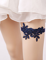 cheap -Lace Classic Jewelry / Lace Wedding Garter With Gore Garters Wedding / Party & Evening