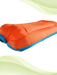 cheap -Air Sofa Inflatable Sofa Sleep lounger Inflatable Pool Floats Outdoor Waterproof Portable Fast Inflatable Ultra Light (UL) Polyester Polyester Taffeta 260*150 cm Beach Camping Outdoor All Seasons