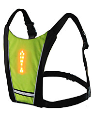 Недорогие -Светодиодная лампа Велосипедные фары огни безопасности Светоотражающий жилет LED Горные велосипеды Велоспорт Велоспорт Водонепроницаемый Несколько режимов Пульт управления Cool / IPX-5
