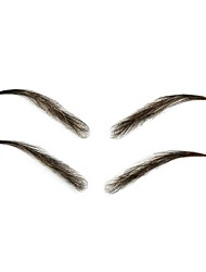 cheap -False Eyebrow Handmade Makeup 2 pcs  Others Eye  Bachelor Party  Engagement Party Casual  Daily  New Arrival Wedding  Party  Anniversary Daily Makeup  Halloween Makeup  Party Makeup Natural