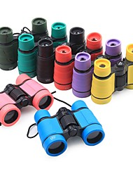 cheap -4 X 30 mm Binoculars Portable, Lightweight BAK4 90/100 m Camping / Hiking / Caving ABS+PC