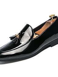 cheap -Men's Formal Shoes PU Spring &  Fall Loafers & Slip-Ons White / Black / Office & Career
