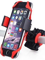 Недорогие -Крепление для телефона на велосипед Назначение Шоссейный велосипед Горный велосипед Велоспорт силикагель Красный 1 pcs