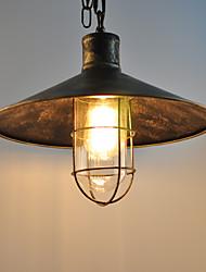 Недорогие -CXYlight 36 cm Подвесные лампы Металл шишка Окрашенные отделки Деревенский стиль / Ретро 110-120Вольт / 220-240Вольт