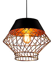 cheap -1-Light Northern Europe Modern Industry Metal Shade Pendant Lights Dining Room Living Room Kitchen Light