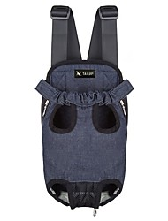 cheap -Rodents Dogs Cats Carrier & Travel Backpack Pet Carrier Portable Camping & Hiking Travel Solid Colored Black Blue