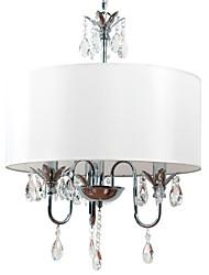cheap -BriLight Drum Pendant Light Ambient Light Electroplated Metal Fabric Mini Style 110-120V / 220-240V / E12 / E14