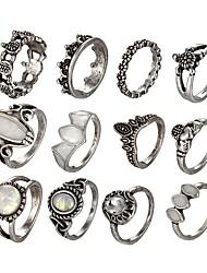 cheap -Ring Set Opal Silver Alloy Turtle Ladies Unusual Unique Design